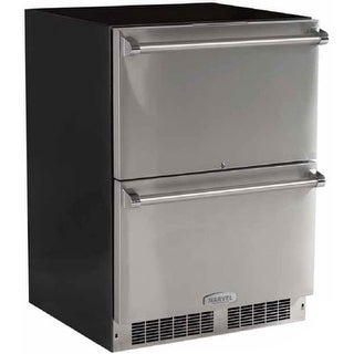 Marvel MP24RDS2N 24 Built-In Pro Refrigerated Drawers with Lock