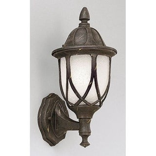 "Designers Fountain 2867-AG 1 Light 6.5"" Cast Aluminum Wall Lantern from the Capella Collection"