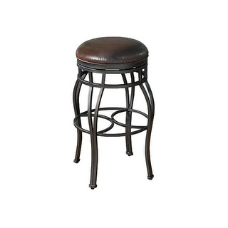 Valenti 34 Inch Backless Extra Tall Bar Stool By Greyson