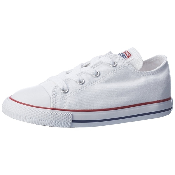4496491ebea0 Converse Infant Chuck Taylor All Star 7J256 Ox Optic White Infant Size 10 - Optic  White