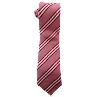 Zara Mens Silk Striped Neck Tie - M