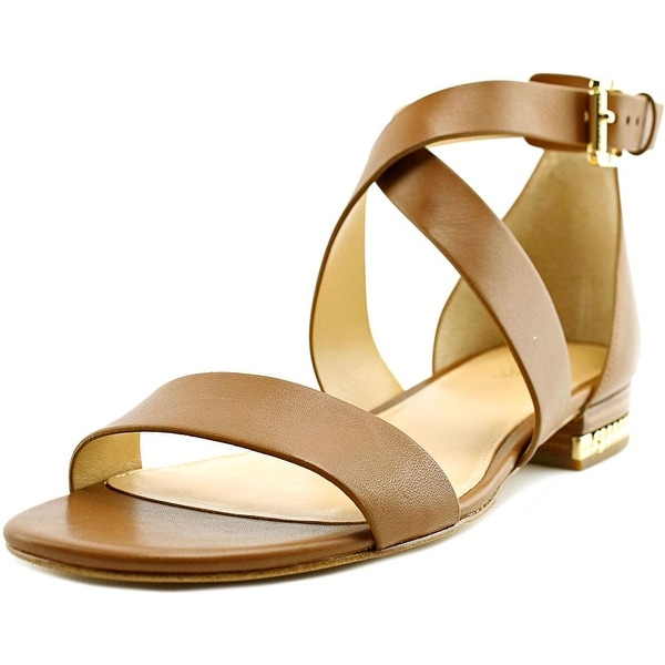 Michael Michael Kors Sabrina Open Toe Patent Leather Sandals