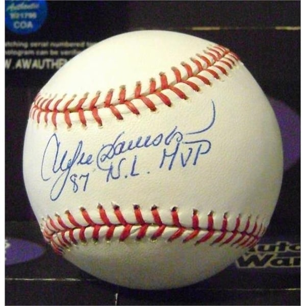 4492aef5912 Shop Andre Dawson Autographed Baseball Inscribed 87 NL MVP SC1 - Free  Shipping Today - Overstock - 23999120