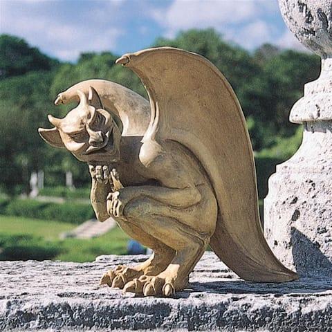 Cambridge Hopping Gargoyle Statue
