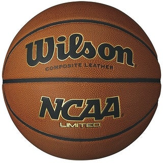 "Wilson NCAA Limited Composite Leather Official Size Basketball (29.5"")"