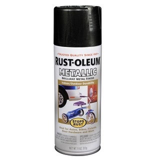 Rust-Oleum 248636 Stops Rust Metallic Spray Paint, Oil Rubbed Bronze, 11 Oz.