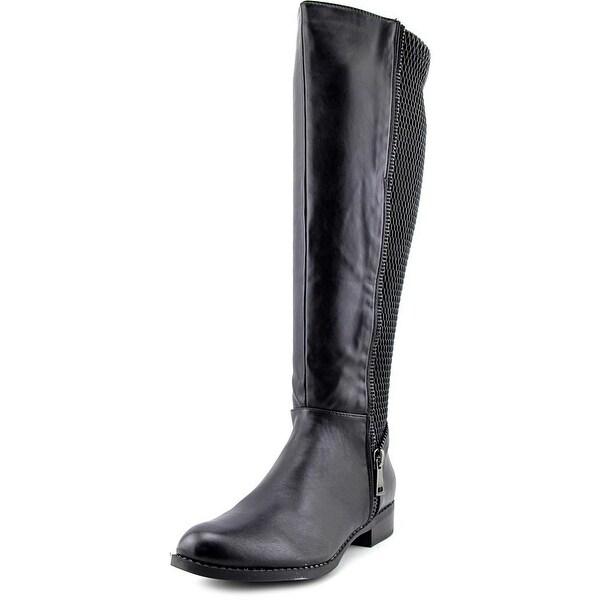 Steve Madden Saami Black Boots