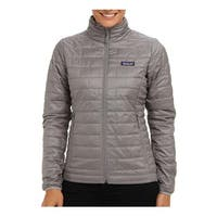 Patagonia Womens Micro Puff Feather Gray XS
