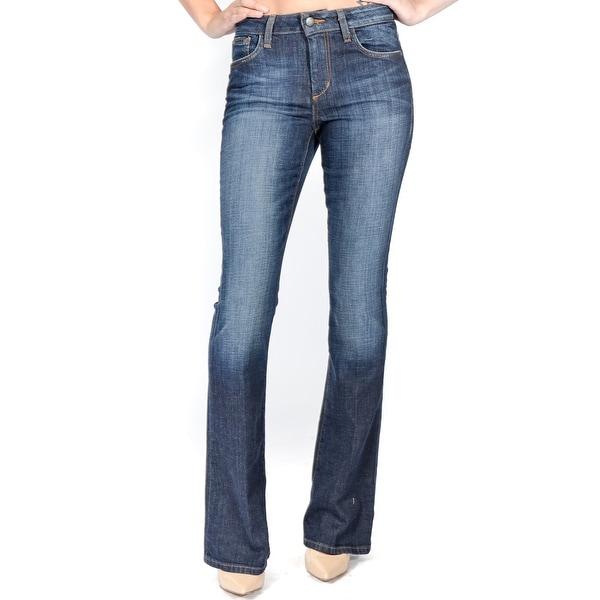 Visionaire Skinny Bootcut Jean In Stephanie