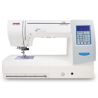 "Janome Memory Craft Horizon 8200QCP Special Edition - 10"" x 18"" x 10"""