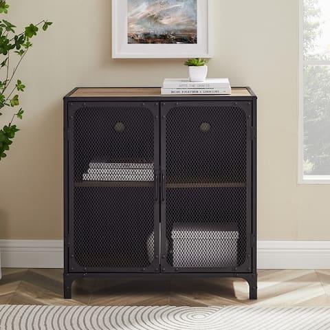 Carbon Loft Pierpont Metal Mesh Accent Cabinet