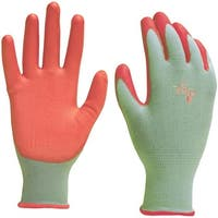 Digz 7695-26 Stretch Knit Garden Glove, Small, Green