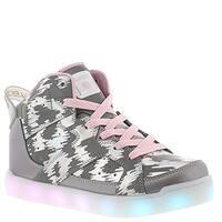 4135c32234e58 Skechers Unisex Kids Energy Lights E-Pro Reflecti Fab Light Up Sneaker -  Silver