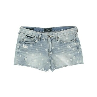 Lucky Brand Womens Denim Cut-Off Casual Shorts - 30