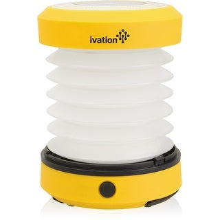 Ivation LED Battery Operated Camping Lantern (Yellow)