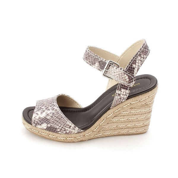 Marc Fisher Womens Maiseey2 Open Toe Casual Espadrille Sandals - 8