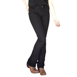 Kimes Ranch Western Jeans Womens Bootcut Slim Black