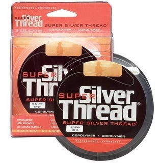 Super Silver Thread Clear Fishing Line Filler Spool (330 yds)