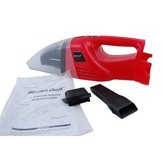 Master Craft HandHeld Vacuum Wet Dry Minus Battery NEW