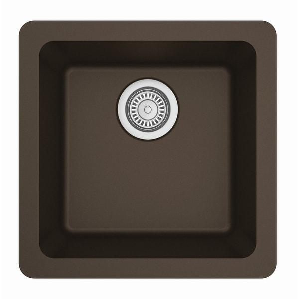 Karran Undermount Quartz Bar Single Bowl Sink. Opens flyout.