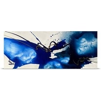 Jonas Gerard Poster Print entitled Blue Angel 1 (3 options available)