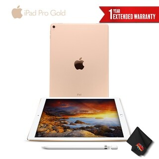 Apple 9.7 Inch iPad Pro (Wi-Fi Only) 256GB - Gold + Apple Pencil
