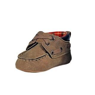 Double Barrel Western Shoes Boys Easton Hiker Baby Buckers