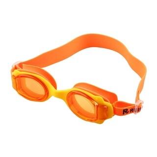 Adjustable Belt Anti Fog Swim Glasses Swimming Goggles Orange for Kids Children