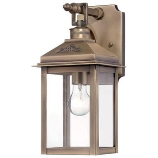 The Great Outdoors 72431-261 1 Light Outdoor Wall Sconce from the Eastbury Collection