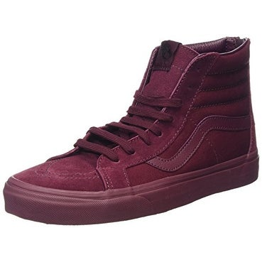 Vans Mens Mono SK8-Hi Reissue Zip Port Royal Sneaker - 12