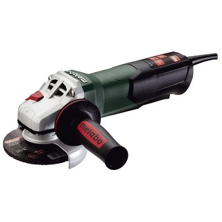 Metabo WP9-115 QUICK Angle Grinder with Non-Locking Paddle Switch, 8.5 Amp