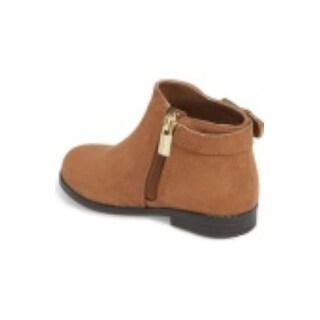 Michael Kors Girls Emma Shine Ankle Zipper Chelsea Boots - Toddler 9
