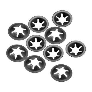 Starlock Washers , M6x16  Internal Tooth Clips Fasteners Kit , Pack of 10 - M6x16,10pcs