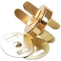 Gold - Sunbelt Magnetic Purse Snap 18Mm 1/Pkg