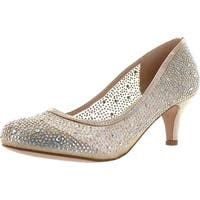 Blossom Bertha-37 Embellished Women's Low Heel