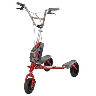Trikke Freedom V Handlebar Cruiser Red with 36V Battery/Charger Scooter