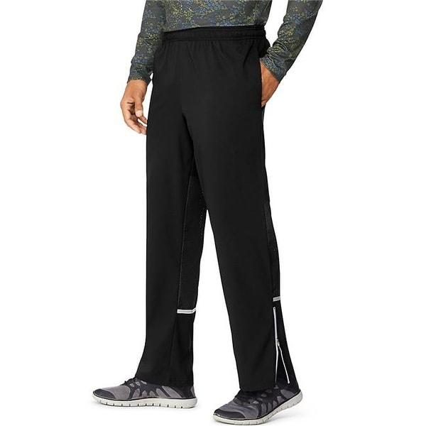 2147c40740 Shop Hanes 90563754731 Medium Mens Performance Running Pants, Black - Free  Shipping On Orders Over $45 - Overstock.com - 23185760