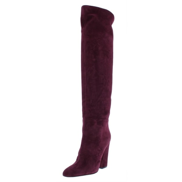 6053a0903a2 Shop Sergio Rossi Womens Virginia Over-The-Knee Boots Suede Fashion ...