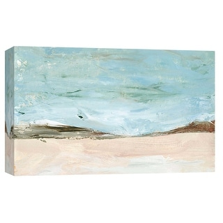 "PTM Images 9-101910  PTM Canvas Collection 8"" x 10"" - ""Landscape Study 3"" Giclee Mountains Art Print on Canvas"
