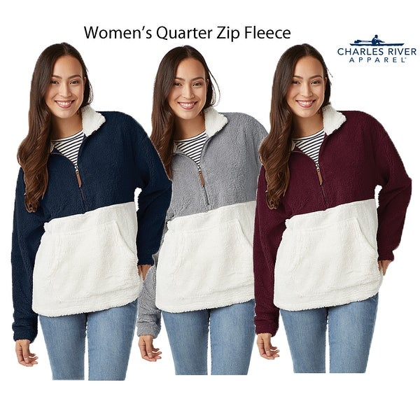 Charles River Womens Oxford Quarter ZIp
