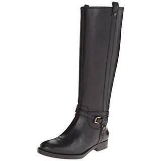 Enzo Angiolini Womens Edosa Riding Boots Leather Knee-High