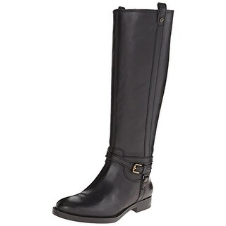Enzo Angiolini Womens Edosa Riding Boots Leather Knee-High