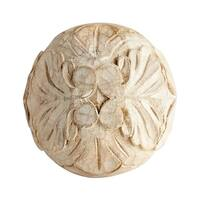 "Cyan Design Large Round Wreath Filler 5"" Diameter Bowl and Vase Filler Made in India - Natural Ash"