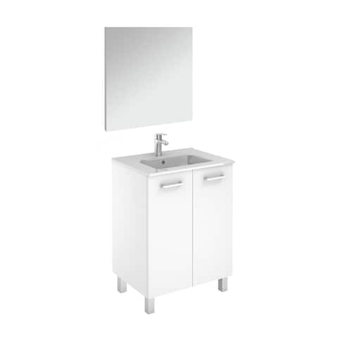 """WS Bath Collections Logic 70 Pack 1 Logic Vanities 18"""" Free Standing"""