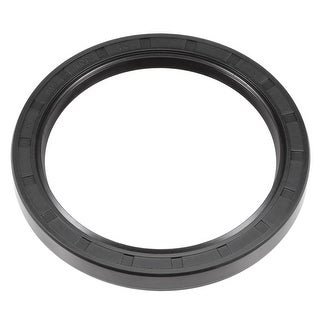 Oil Seal, TC 80mm x 100mm x 10mm, Nitrile Rubber Cover Double Lip - 80mmx100mmx10mm
