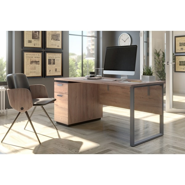 Bestar Aquarius Computer Desk. Opens flyout.