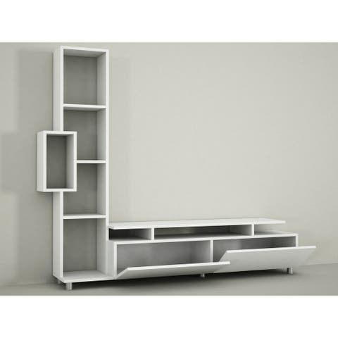Rossano Modern TV Stand - 15.75'' H x 11.61'' W x 62.99'' D