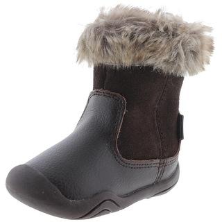 Pediped Girls Toddler Leather Boots - 3.5 medium (b,m)