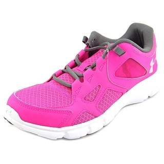 Under Armour UA W Thrill Women Round Toe Synthetic Pink Running Shoe