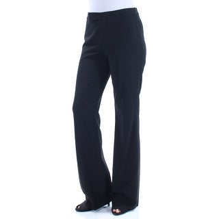 RALPH LAUREN $115 Womens 1260 Black Wear To Work Pants 4 B+B